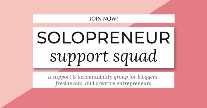 Join the Solopreneur Support Squad!