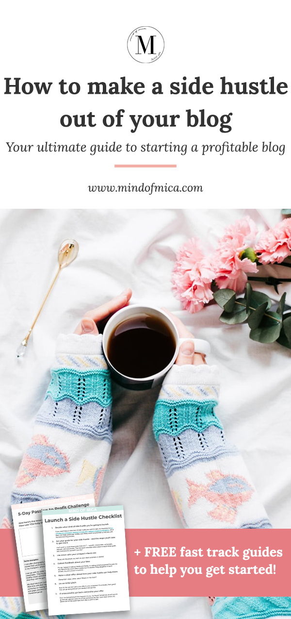 If you've ever wondered how to start a profitable blog, look no further. This is ultimate guide to learn how to make money blogging, from finding your blog niche, increasing blog traffic, and making money on your blog. Plus get free cheatsheets to help you get started!