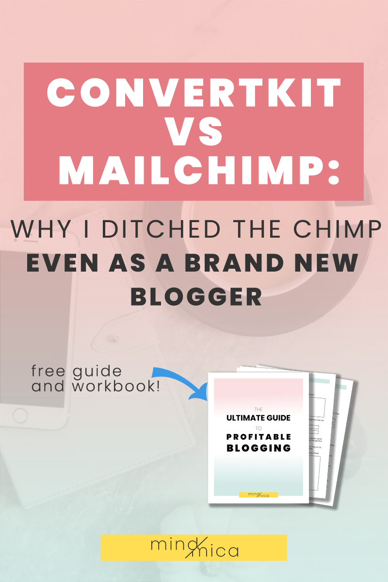 Convertkit vs Mailchimp: one of the biggest questions every blogger and business owner asks themselves. Find out the pros and cons of Convertkit and MailChimp if you want to know the best email marketing tool for bloggers!