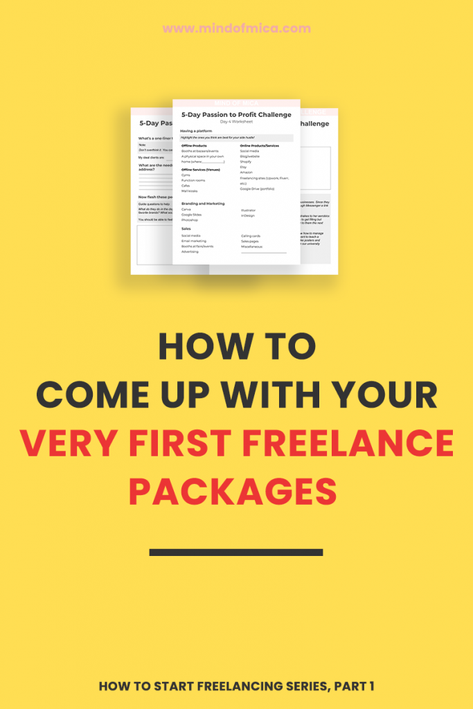 If you're looking for tips for aspiring freelancers because you want to know to start freelancing, look no further. This guide will walk you through how to make freelance packages that attract clients and get you booked out.