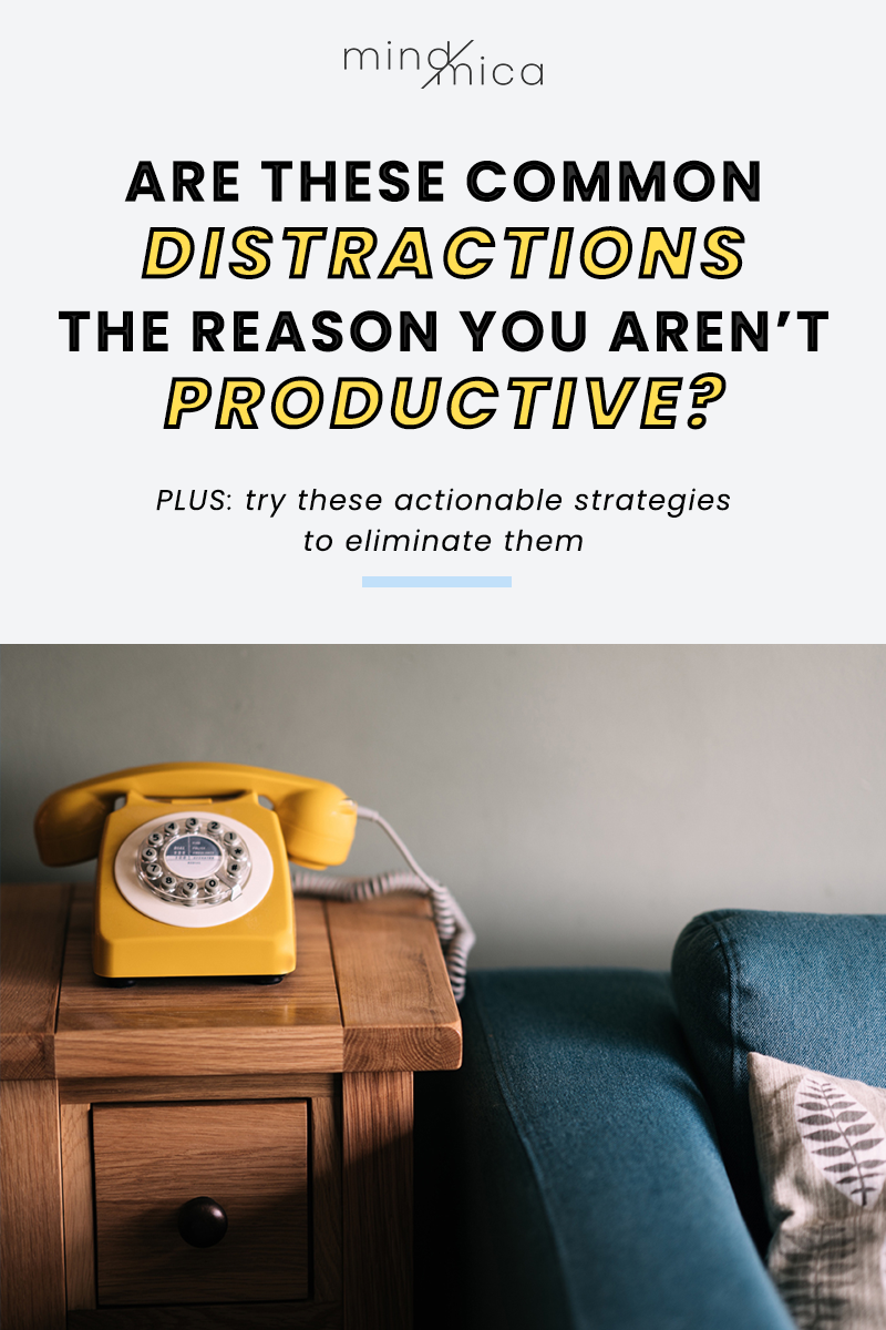 If you feel overwhelmed despite working several hours, maybe the reason you aren't productive is because of pesky distractions. In this post, we talk about the most common distractions that are making you unproductive and keeping you from feeling less flustered. Then, we give a few actionable tips to eliminate distractions and get more productive every day.
