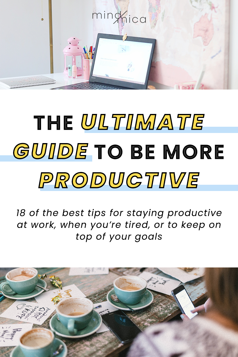 If you want to be more productive at work (even when you're tired), you're in luck. In this post, I've compiled a list of tips and tricks you can start doing every day to boost your productivity.